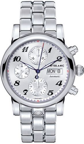 Star Traditional Chronograph Automatic Silver / Bracelet