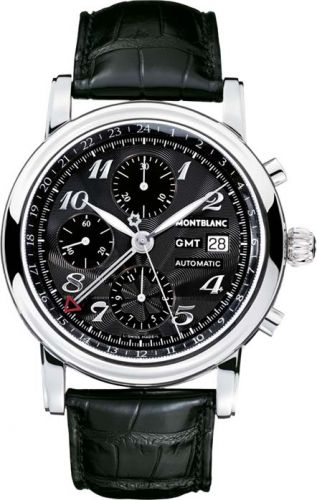 Star Traditional Chronograph GMT Automatic Black