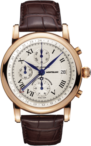 Star Traditional Chronograph GMT Automatic Red Gold