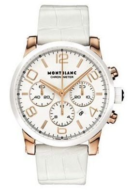 TimeWalker Chronograph Automatic Red Gold Ceramic White
