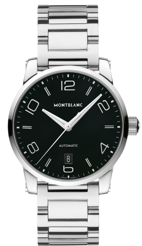 TimeWalker Date Automatic 39 Black / Bracelet