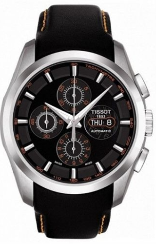 Couturier Chronograph Automatic 7750 Orange / Strap