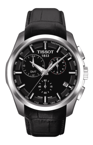 Couturier Quartz Chronograph GMT Black