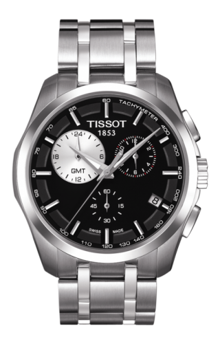 Couturier Quartz Chronograph GMT Silver-Eye