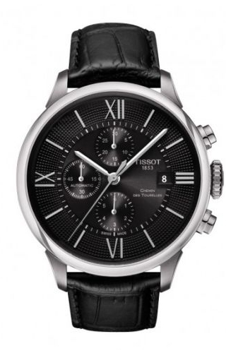 Chemin des Tourelles Automatic Chronograph Stainless Steel / Black