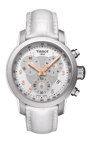 PRC 200 Quartz Chronograph Lady Rose Roman White