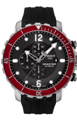 Seastar 1000 Automatic Chronograph Red Ceramic