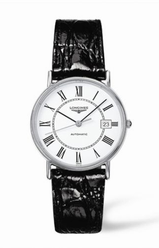 Presence 34.5 Automatic Stainless Steel Roman