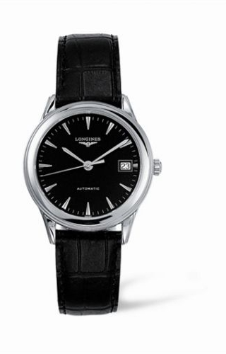 Flagship 35.6 Automatic Stainless Steel Black