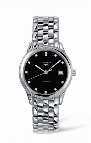 Flagship 35.6 Automatic Stainless Steel Black Diamond