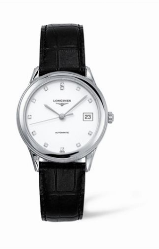 Flagship 35.6 Automatic Stainless Steel White Diamond