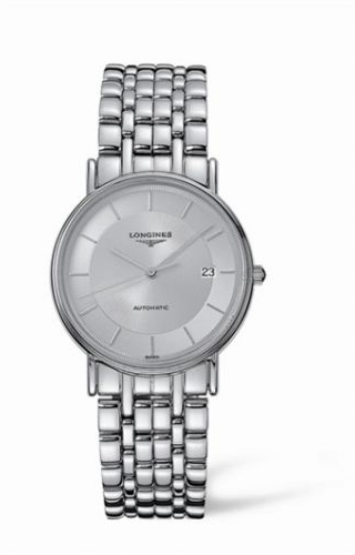Presence 34.5 Automatic Stainless Steel Silver Bracelet