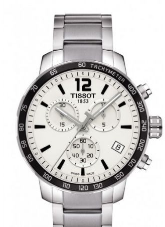 Quickster Chronograph Stainless Steel / Silver / Bracelet