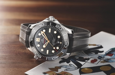 "Giới thiệu đồng hồ Omega Seamaster Diver 300M ""On Her Majesty's Secret Service"" 50th Anniversary"