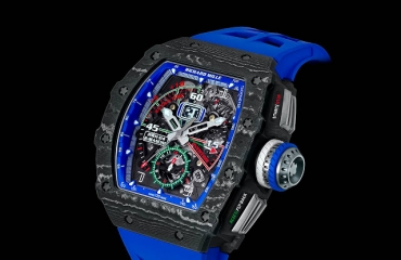 Giới thiệu đồng hồ Richard Mille RM 11-04 Automatic Flyback Chronograph Roberto Mancini